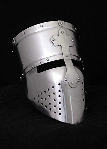 Kreuzritter Helm, Templerhelm, um ca. (Kreuzritter Kostüme)