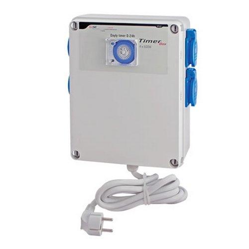 Temporizador / Programador GSE Timer Box 4x600w 4x16A 230V (GSE-6)