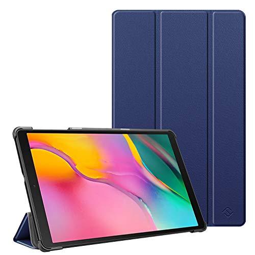 FINTIE Custodia per Samsung Galaxy Tab A 10.1 2019 - Ultra Sottile Leggero Cover Protettiva Case per Samsung Galaxy Tab A 10.1 Pollici Modello SM-T510 / SM-T515 2019, Blu Scuro
