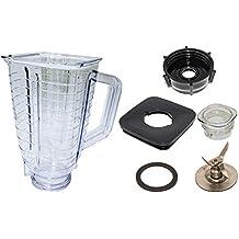 Blendin 5 Copa, cuadrado superior plástico jarra de batidora, completa.