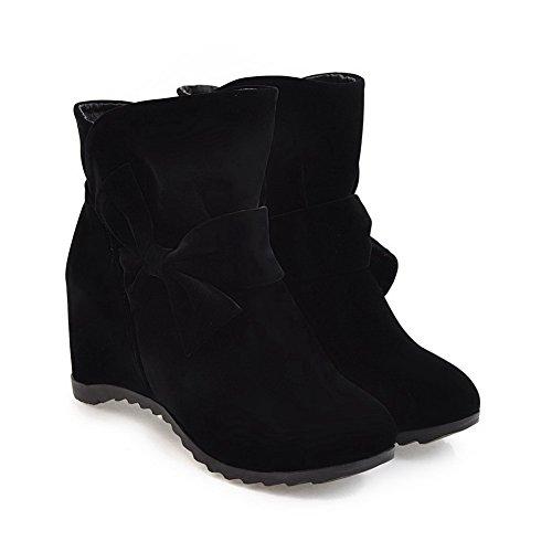 Balamasa Balamasaabl09989 - Sandales Compensées Pour Femme Noir