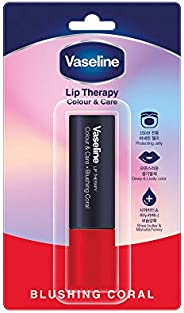 Vaseline Lip Therapy Color & Care, Blushing Coral, 4.