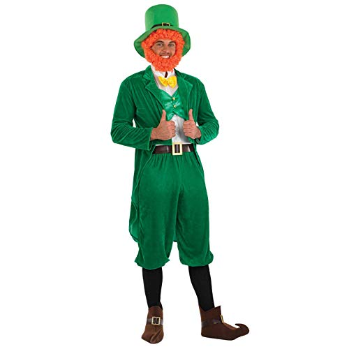 Fun Shack Herren Costume Kostüm, Classic Leprechaun Suit, - Irische Kostüm Männer