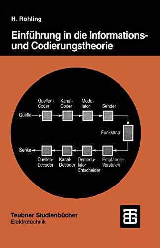 Einführung in die Informations- und Codierungstheorie (Teubner Studienbücher Technik)