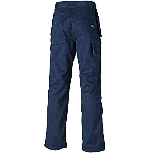 Dickies WD801 Pantalon de travail avec poches au niveau de la ceinture Bleu (Bleu marine)