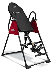 BH Fitness ZERO PRO G405 Adjustable inversion table. Reduce backpain and improve your posture! Max. inclination 92º. Visco-elastic backrest.
