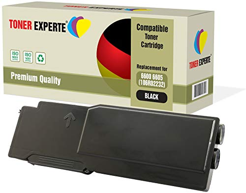 TONER EXPERTE 106R02232 Nero Toner compatibile per Xerox Phaser 6600, 6600dn, 6600n, WorkCentre 6605, 6605dn, 6605n