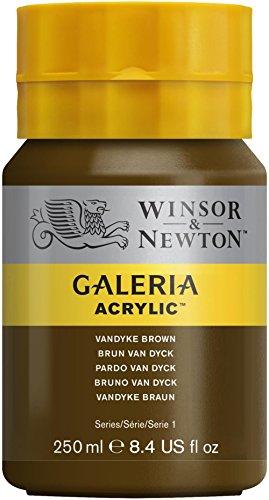 winsor-newton-galeria-bote-de-pintura-acrilica-250-ml-con-boquilla-gorra-van-dyke