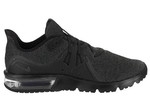 Nike Mens Air Max Sequent 3 Scarpe Da Corsa Nero / Antracite
