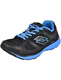 Lotto Men's Black And Blue Running Shoes - 7 UK
