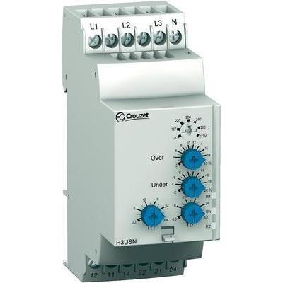 CROUZET C-LYNX - RELE CONTROL TENSION TRIFASICO H3USN 3X220-3X480V