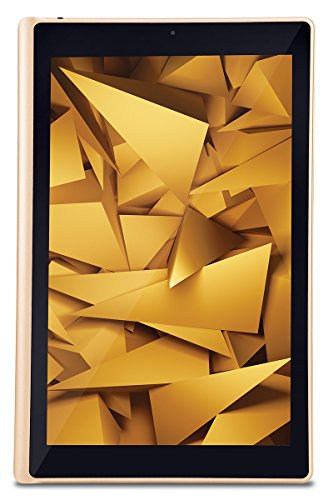 iBall Slide Elan 4G2 Tablet (10.1 inch, 16GB, Wi-Fi + 4G LTE + Voice Calling), Gold-Cobalt Brown