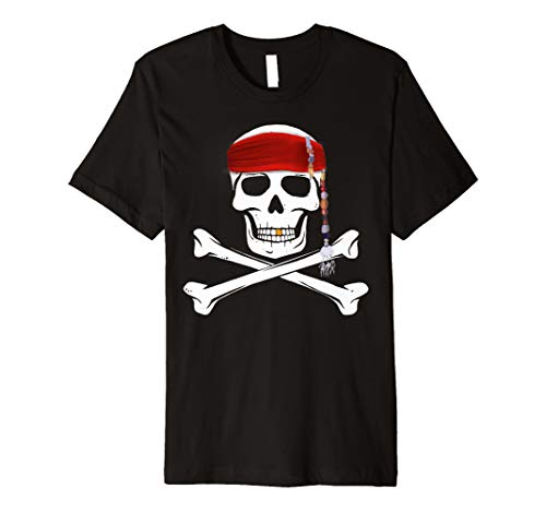 piraten t shirt für Kinder Halloween Skull Shirt