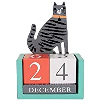 YeahiBaby Calendari da Tavolo 2019 Fresh Cartoon Animals Series Mini Calendari da Tavolo Gatto Cancelleria e prodotti per ufficio