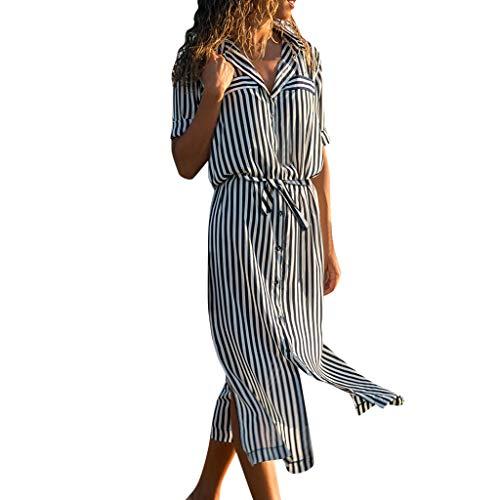 Urlaub Kleid Outdoor Vintage Reisekleid Damen Sexy Swing Abendkleid Sommerkleider Bohemia Cocktailkleid Festliches Kleid UnregelmäßIg GüRtel Falten Tanzkleid Unterkleid Blusekleid -