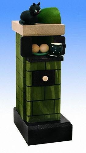 KWO Olbernhau 75803 Kachelofen, 20 cm, grün-rauchend