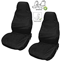 XtremeAuto® Front Waterproof Heavy Duty Durable Universal Seat Covers (2)