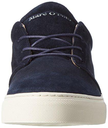 Marc O'Polo 70123763502103 Sneaker, Sneakers basses homme Bleu Marine