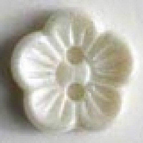 """4 Stück Knopf """"Blume"""" - 14mm Durchmesser"""