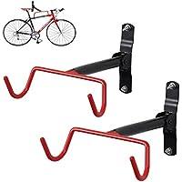 FIVE FLOWER Bicicleta Gancho soporte de pared plegable estante