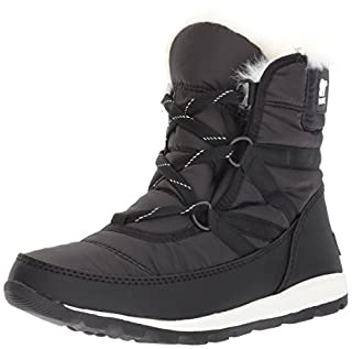 Sorel Women's Whitney Short Lace Snow Boots, Black, (Black (Black 010)) , 6 UK(39 EU) (B01MSZ95RV) | Amazon price tracker / tracking, Amazon price history charts, Amazon price watches, Amazon price drop alerts