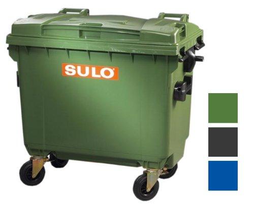 original SULO Abfalltonne Mülltonne Müllbehälter Müllcontainer 660L NEU grün
