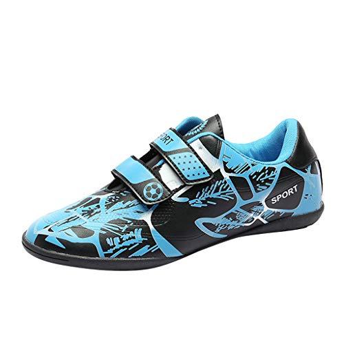 Scarpe da calcio per unghie rotte da donna Scarpe da ginnastica sportive antiscivolo resistenti agli studenti (✨✨ - Blu, 36)