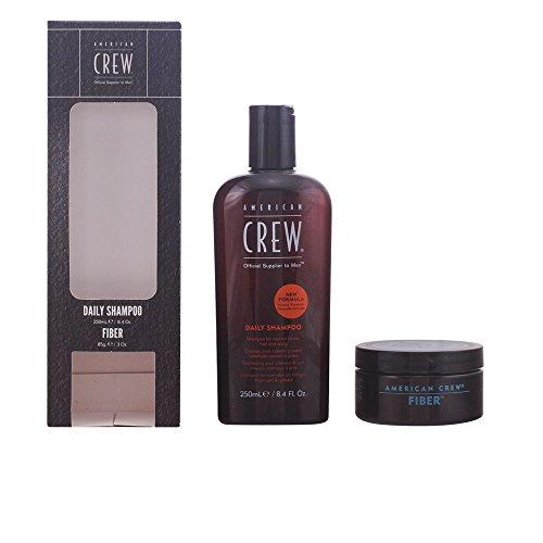 American Crew Shampoo + Haarwachs Fiber - 1 Pack