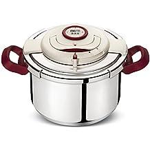 Lagostina CLIPSO' - PRECISION Pentola a pressione acciaio inox 6L Ø22cm, Acciaio inossidabile, 6 litri, Acciaio