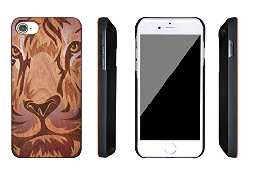 SunSmart iPhone 7 Handy Cover aus Holz für iPhone 7 mit 4,7-Zoll-Display - echtes Sandelholz -07 IP7-4.7''-08
