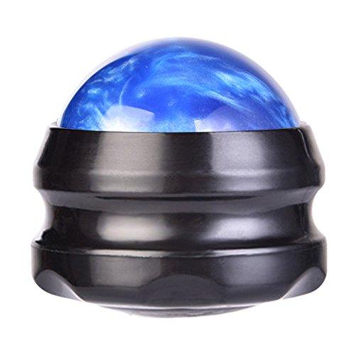Arme Harz (Fastar Massage Roller Ball, Hand Manuelle Harz Rolling Massage Ball für Schulter, Bauch, Arme, Rücken, Beine, Fuß, blau)