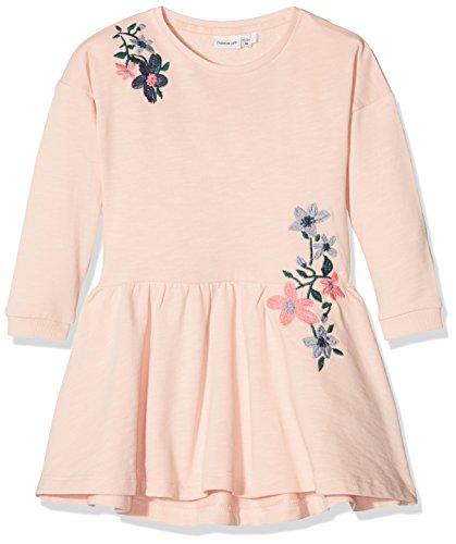 n Kleid Nmfdanna LS Swe Dress Unb, Rosa (Peachy Keen), 98 (Peachy Mädchen)