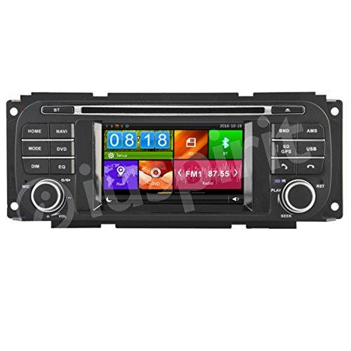 GPS DVD USB SD Bluetooth Autoradio Navi Jeep Grand Cherokee, Jeep Wrangler, Chrysler 300M, Chrysler PT Cruiser, Chrysler Sebring, Chrysler Concorde Dodge Dakota, Dodge 1500Pickup, Dodge Pickup, Dodge Viper, Dodge Caravan, Dodge Stratus (Dodge Dvd Grand Caravan)