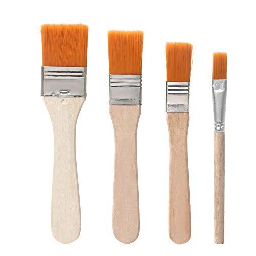 COHK Weiche Staubreinigungsbürste mit Holzgriff für Handy, Tablet, Laptop, PC-Reparatur -