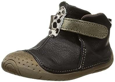 Babybotte Zak1, Chaussures Bébé quatre pattes (1-10 mois) bébé garçon, Noir (001 Noir), 19 EU (9-12 months Bébé UK)