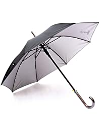 Sun Umbrella Black Stick Umbrella (Reporter)