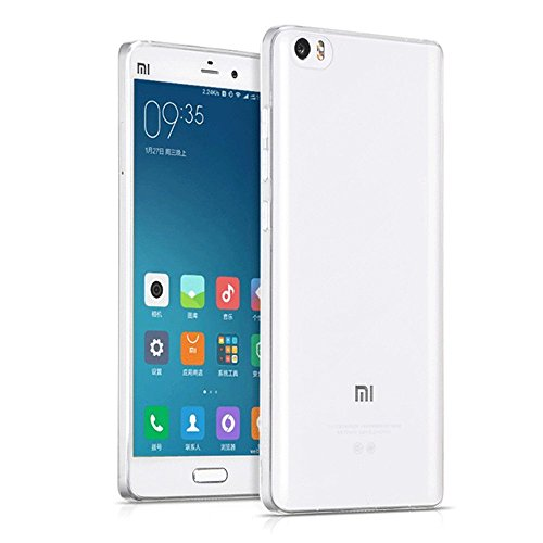 Xiaomi MI5 / M5 Case, DMG Ultra Thin Soft Touch, Slim Fit Transparent TPU Back Cover Case For Xiaomi Mi 5 (Transparent)