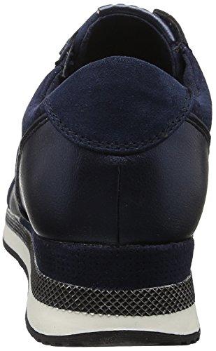 Marco Tozzi - 23711, Scarpe da Ginnastica Basse Donna Blu (Navy Comb 890)