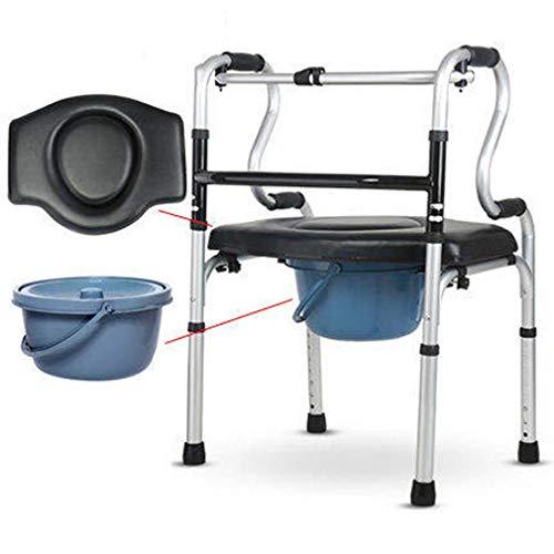 Medical Walker Senioren Walker Assistent Walker Anti-Fall-Rehabilitations-Trainingsgerät Multifunktions,B -