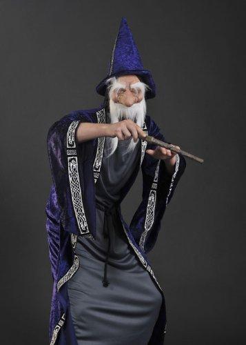 Imagen de disfraz de mago estilo adulto dumbledore alternativa