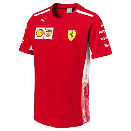 Puma Ferrari Scuderia F1 Racing Driver Sebastian Vettel Tshirt, M