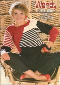 Wendy Shetland at the Crossroads Motel Vintage Knitting & Crochet Pattern Book
