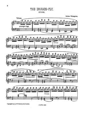 Palmgren: the Dragon Fly for Piano Piano