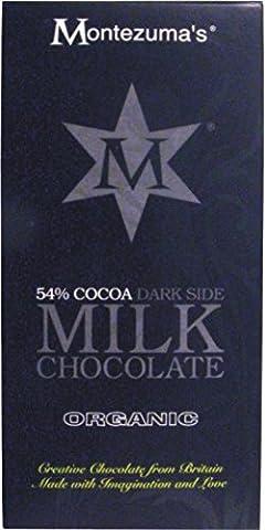 Montezumas Chocolates Organic 54% Milk Chocolate Bar 100 g (Pack of 4)