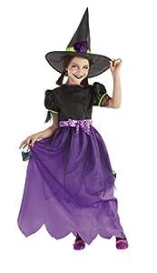 Rubies- Disfraz infantil brujita Glitter, S (3-4 años) (Rubie
