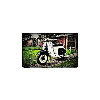 1960 agrati capri Bike Motorcycle A4 Photo Print Retro Aged Vintage