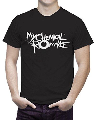 New Unisex T-Shirt, Aufschrift: My Chemical Romance, Musik, Band, Rock, Punk, The-Black-Parade-Konzert Gr. Small, schwarz (Konzert-tour-t-shirt Neue Das)
