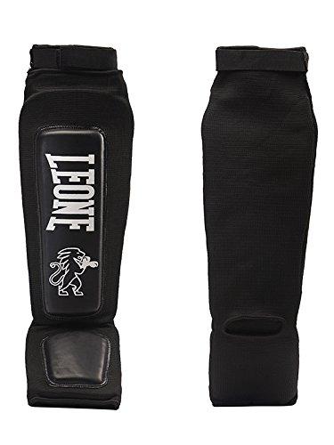 Leone Defender PT120 - Espinilleras de calcetín Negro Talla:M