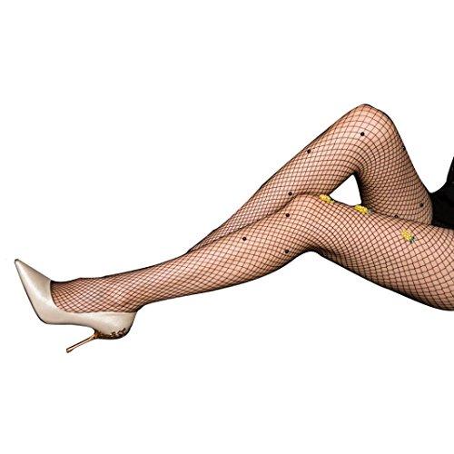Coolster Sexy Fishnet Elastische Strumpfhose Ananas Oberschenkel Strümpfe Strumpfhosen Strumpfhosen Paar (Ag Hohe Oberschenkel Strümpfe)