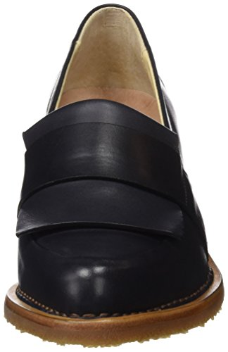 Neosens S580 Restored Skin Ebony/Bouvier, Scarpe Col Tacco Punta Chiusa Donna Nero (Ebony)